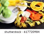 fresh vegetables carrots  sweet ... | Shutterstock . vector #617720984