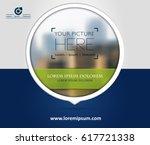 cover design  vector brochure ... | Shutterstock .eps vector #617721338