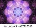 Kaleidoscopic Pattern Of Viole...