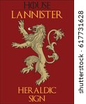 Redraw Of A Lannister Heraldic...