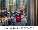 london  uk   march 15  2017 ...   Shutterstock . vector #617734610