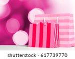 shopping bags   Shutterstock . vector #617739770