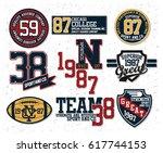 sports t shirt graphic   Shutterstock .eps vector #617744153