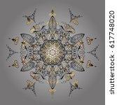 vector winter design on gray... | Shutterstock .eps vector #617748020