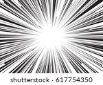 background of radial lines for... | Shutterstock .eps vector #617754350