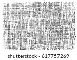 grunge black and white urban... | Shutterstock .eps vector #617757269