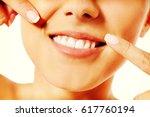 dental health concept  ... | Shutterstock . vector #617760194
