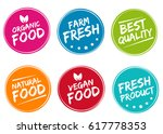 set of colorful labels and... | Shutterstock .eps vector #617778353