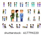 vector set of different ... | Shutterstock .eps vector #617794220