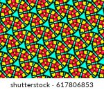 a hand drawing pattern made of... | Shutterstock . vector #617806853