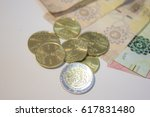 saudi arabia riyals with halal  ... | Shutterstock . vector #617831480