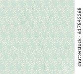 decorative floral wallpaper... | Shutterstock .eps vector #617842268