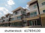 town home | Shutterstock . vector #617854130