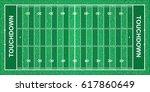 american football field. file... | Shutterstock .eps vector #617860649