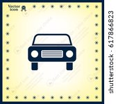 car icon | Shutterstock .eps vector #617866823