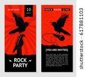 Rock Music Flyer. Concert...