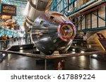 kennedy space center  flo  usa  ... | Shutterstock . vector #617889224