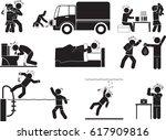 drunker icons | Shutterstock .eps vector #617909816