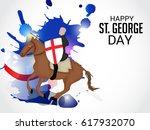 vector illustration of a banner ... | Shutterstock .eps vector #617932070