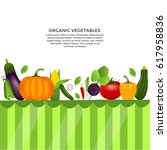 collection of realistic healthy ... | Shutterstock .eps vector #617958836