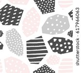 seamless repeat pattern with...   Shutterstock .eps vector #617966063