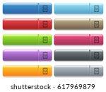 smartphone tweaking engraved... | Shutterstock .eps vector #617969879