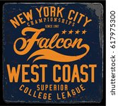 vintage varsity graphics and... | Shutterstock .eps vector #617975300