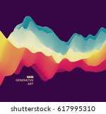 abstract vector background of... | Shutterstock .eps vector #617995310