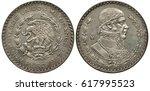 Mexico Mexican Silver Coin 1...
