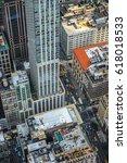 street view of new york | Shutterstock . vector #618018533