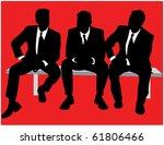 business people   Shutterstock .eps vector #61806466