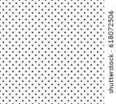 black small dense rhombus... | Shutterstock .eps vector #618072506