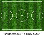 top view of textured green...   Shutterstock .eps vector #618075650