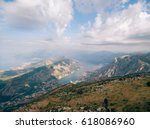 bay of kotor from the heights.... | Shutterstock . vector #618086960