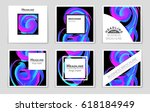 abstract vector layout... | Shutterstock .eps vector #618184949