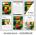 abstract vector layout...   Shutterstock .eps vector #618188168