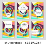 abstract vector layout...   Shutterstock .eps vector #618191264