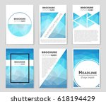 abstract vector layout... | Shutterstock .eps vector #618194429