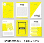 abstract vector layout... | Shutterstock .eps vector #618197249