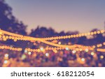 vintage tone blur image of... | Shutterstock . vector #618212054