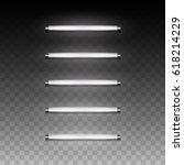 3d realistic vector long... | Shutterstock .eps vector #618214229