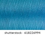 closed up of blue color thread... | Shutterstock . vector #618226994