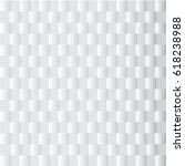 abstract square white and gray... | Shutterstock .eps vector #618238988