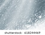 stage light and white or silver ... | Shutterstock . vector #618244469