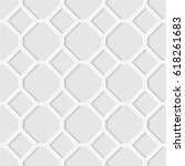 seamless pattern of lines and... | Shutterstock .eps vector #618261683