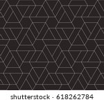 seamless linear pattern with... | Shutterstock .eps vector #618262784