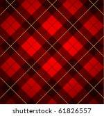 wallace tartan background | Shutterstock .eps vector #61826557