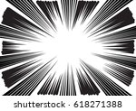 background of radial lines for... | Shutterstock .eps vector #618271388