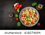 Pasta Colored Farfalle Salad...