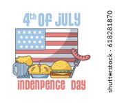 usa independence day design | Shutterstock .eps vector #618281870